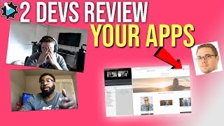 2 Devs Review Your Apps (Weather API - Community Project & Giveaway!) #grindreel