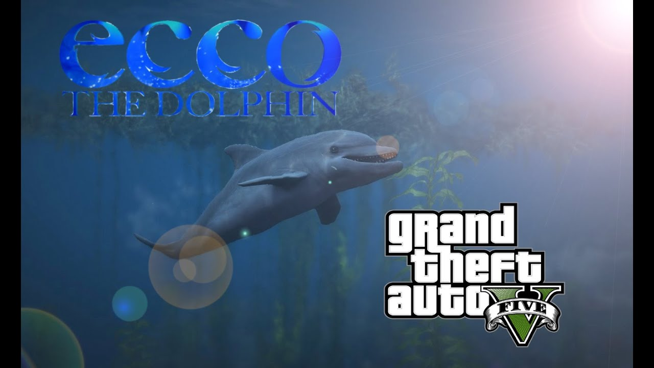ecco the dolphin returns mod for a gta v gameplay youtube. Black Bedroom Furniture Sets. Home Design Ideas