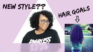 2018 Hair Goals + My First Crochet Using Sensational Jamaican Bounce Crochet Hair