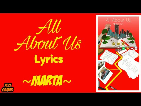 Marta - All About Us (Lyrics) ● Dancing Line