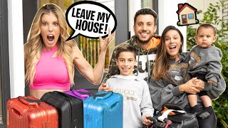 WE MOVED To a NEW HOUSE! W/ REBECCA ZAMOLO | The Royalty Family