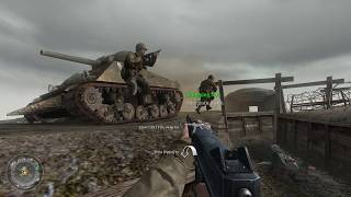 Call of Duty 2 [American Mission] Retreat? We're Advacning In Another Direction