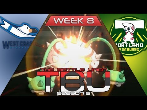 TBU S5 W8 | Battle | West Coast Wingulls VS Portland Timburrs