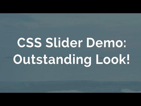 HTML CSS Slider - CSS Slideshow