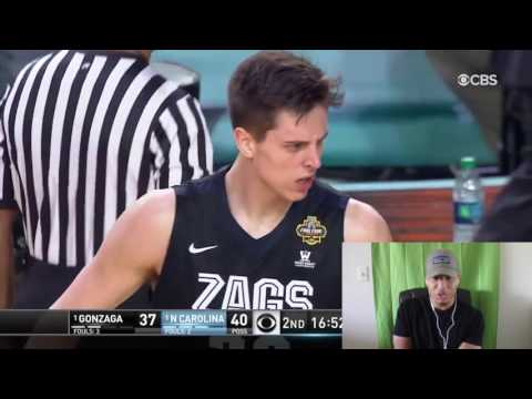 Gonzaga vs. North Carolina: Extended Game Highlights- REACTION