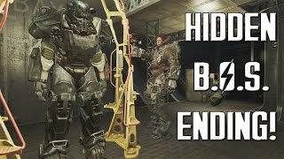 FALLOUT 4 News: CUT Brotherhood Of Steel Ending Discovered! - Better Than The Original?