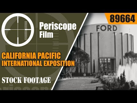 CALIFORNIA PACIFIC INTERNATIONAL EXPOSITION SAN DIEGO  NEWSREEL 1935 89664