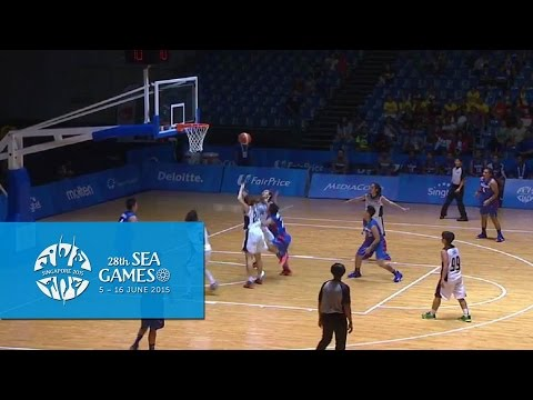 Basketball Women Thailand vs Philippines (Day 4) | 28th SEA Games Singapore 2015