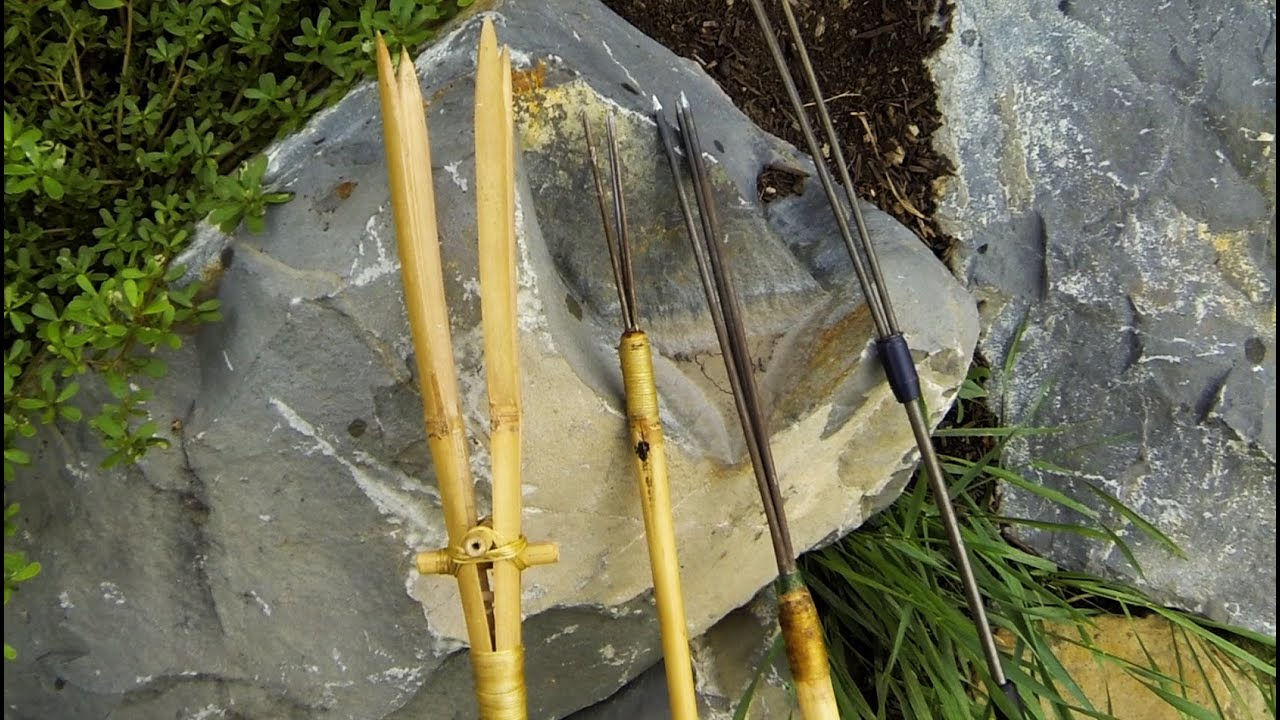 How to make a fishing spear youtube for How to make a fishing spear