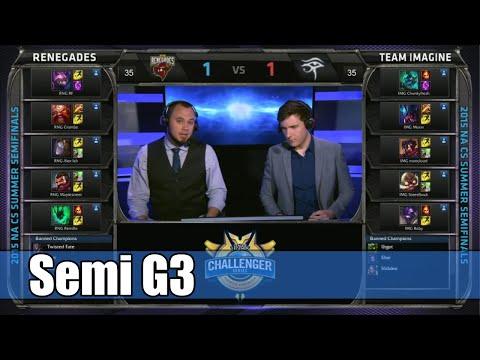 Renegades vs Imagine   Game 3 Semi Finals S5 NA CS Summer 2015   RNG vs IMG G3 Semi NACS