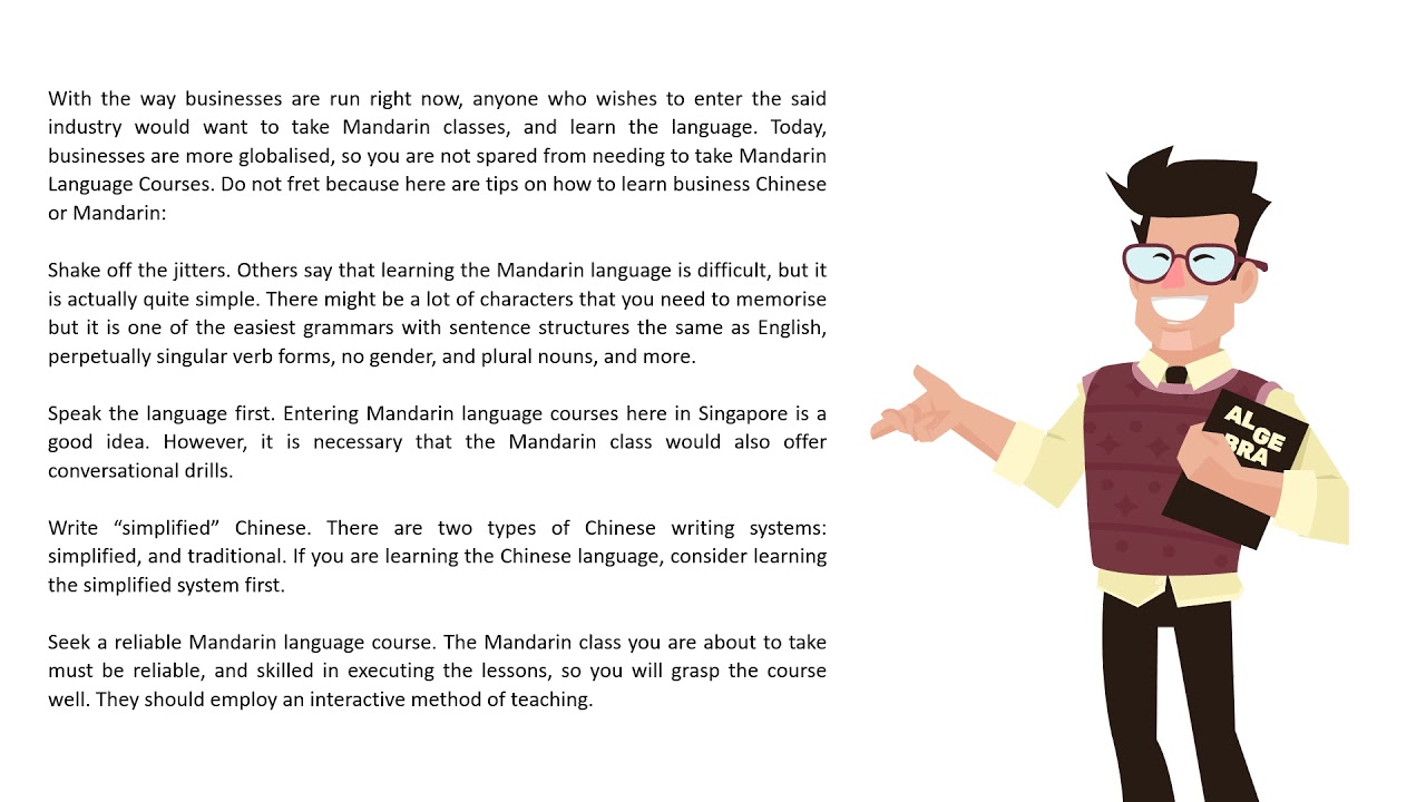 7 Tips in Learning Mandarin