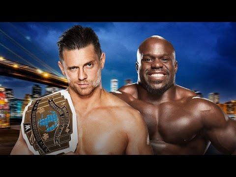 Intercontinental Champion The Miz vs. Apollo Crews - Summerslam WWE 2K16