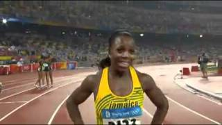 2008 Beijing Olympic Games Womens 200m Final