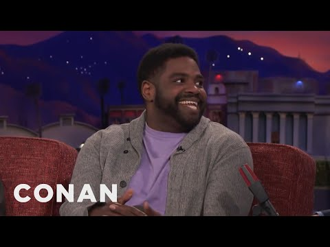 Ron Funches Gave Away Money At Wachovia Bank  - CONAN on TBS