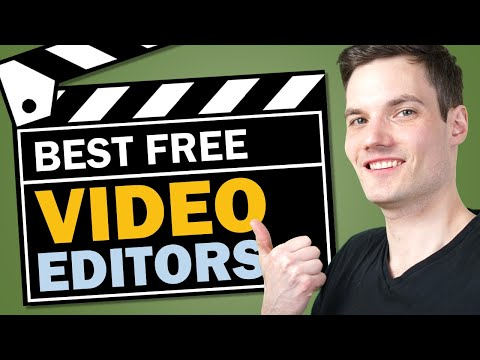 🎬 Top 5 Best FREE Video Editing Software - 2021