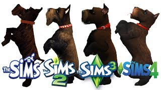 ♦ Sims vs Sims 2 vs Sims 3 vs Sims 4 : Dogs (Part 2)
