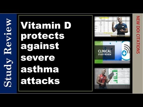 Oral Vitamin D protects against severe asthma attacks