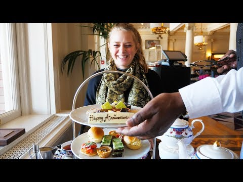 DRINKING THE QUEEN'S TEA! - Afternoon Tea At The Empress - Victoria BC