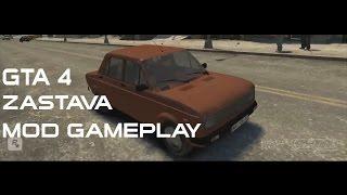 GTA 4 Zastava 128 Car Mod Gameplay HD (link in description)
