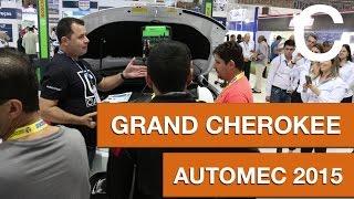 Grand Cherokee direto do estande BOSCH - AUTOMEC 2015