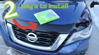 2 ways to install cabin filter…