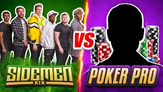SIDEMEN VS PROFESSIONAL POKER PLAYER TOURNAMENT