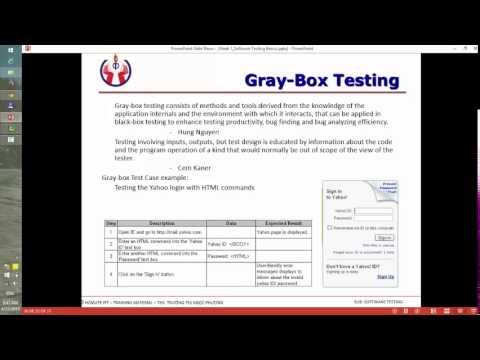 Software Testing Basic