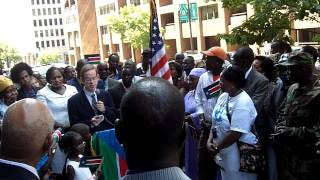 RSS July 9, 2011 DC Flag Raising - United States of America