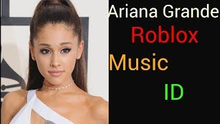 Ariana Grande - No Tears Left to Cry Roblox Music ID!!!
