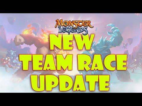 Monster Legends | New Team Race Huge Rewards and Rankings Update (Future Team Races)