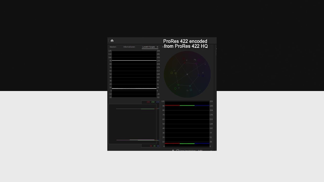 Possible Bug encoding video from ProRes 422 and      Adobe