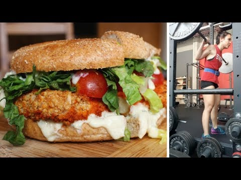 What I Ate + Lifted Today // Vegan & Ridiculous