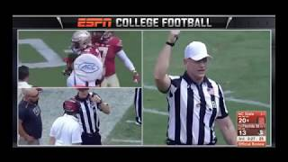 FSU's Jacob Pugh ejected without a penalty