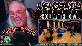 NEMOPHILA Reaction - Motley Crue Cover - Shout at the Devil - First Time Hearing - Requested