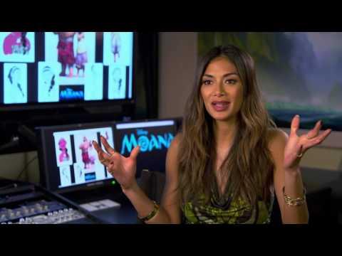 "Moana ""Sina"" On Set Interview - Nicole Scherzinger"