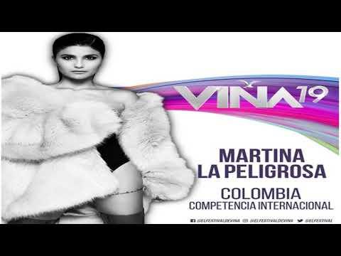 Tu culpa - Martina La Peligrosa - Competencia Internacional Festival de Viña del Mar 2019, Colombia