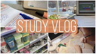 study vlog № 4 - день со мной: география, вебинары, школа
