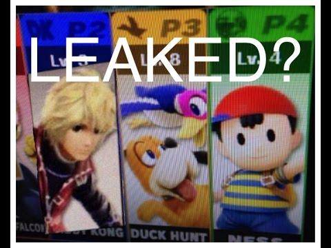 SSB4 Roster Leaked? - 4Chan/ESRB - Super Smash Bros. 4 3DS & Wii U