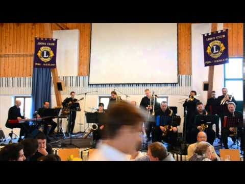 "Danube Connection Big Band ""Backrow Politics"" beim Lion Club Perg-Machland Jazz-Brunch"