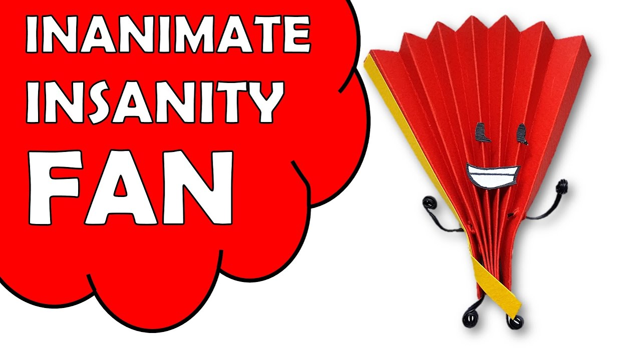 How To Make Inanimate Insanity FAN - YouTube Inanimate Insanity Eyes
