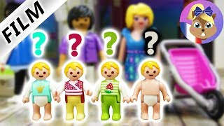 Playmobils Next Top| Achat de vêtements pour le bébé de Romi & Raoul | Film Playmobil