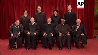 US Supreme Court Justice Ginsburg  hospitalized after fracturing ribs in fall