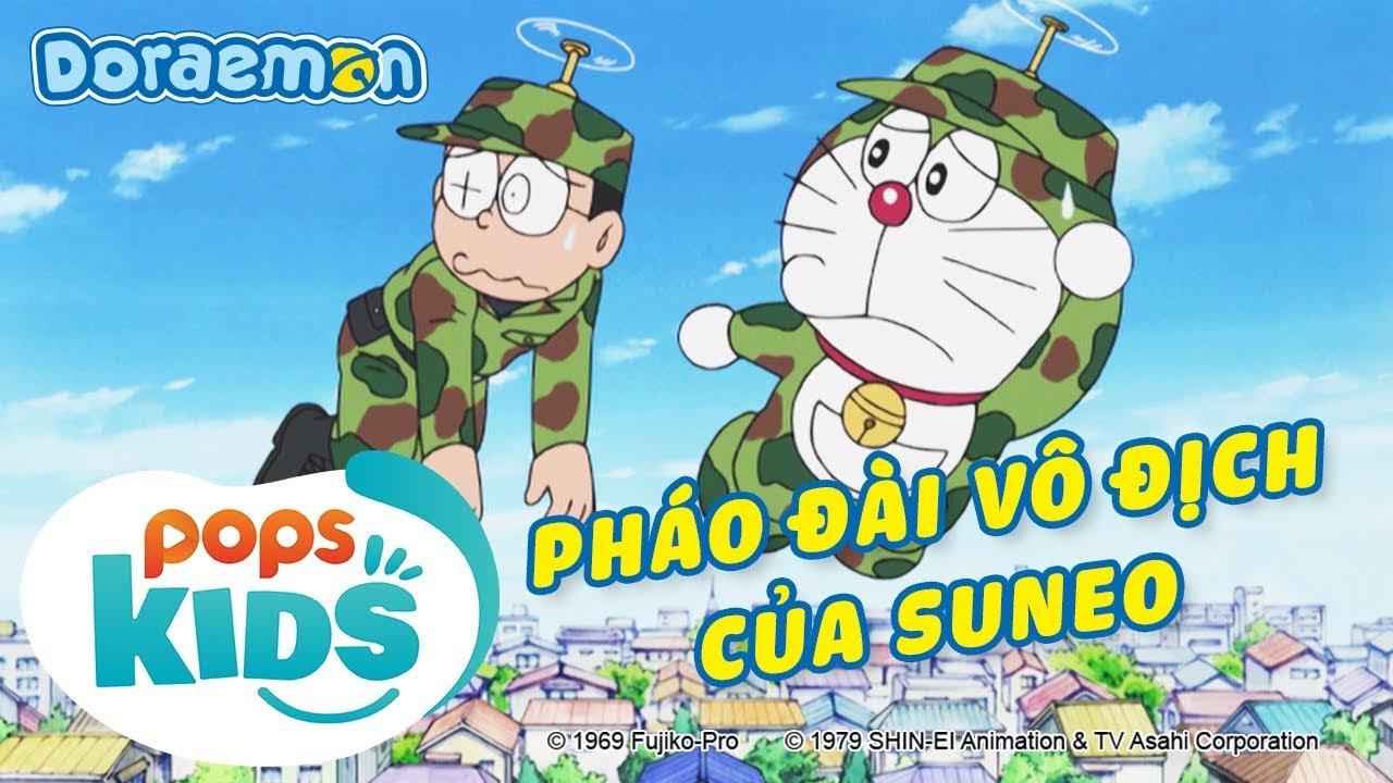 [S6] Doraemon Tập 308 - Nobita Thật Giỏi, Pháo Đài Vô Địch Của Suneo - Hoạt Hình Tiếng Việt