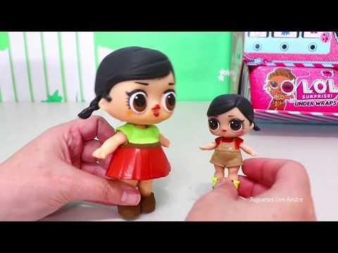 Pulgarcito y los frijoles mágicos con LOL Surprise   Muñecas y juguetes con Andre para niñas y niños