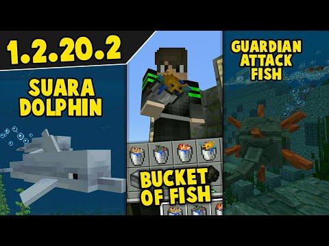 UPDATE 1.2.20.2 BARU, BUCKET OF FISH, SUARA DOLPHIN DLL!!!