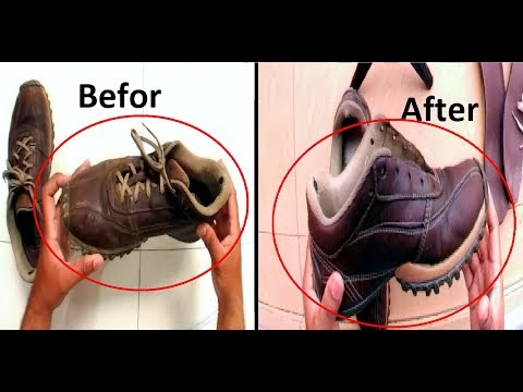 How To Clean & Shine Leather Shoes or Sneaker