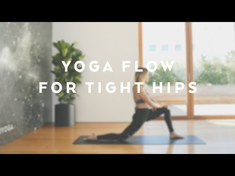 Yoga Flow For Tight Hips with Caley Alyssa