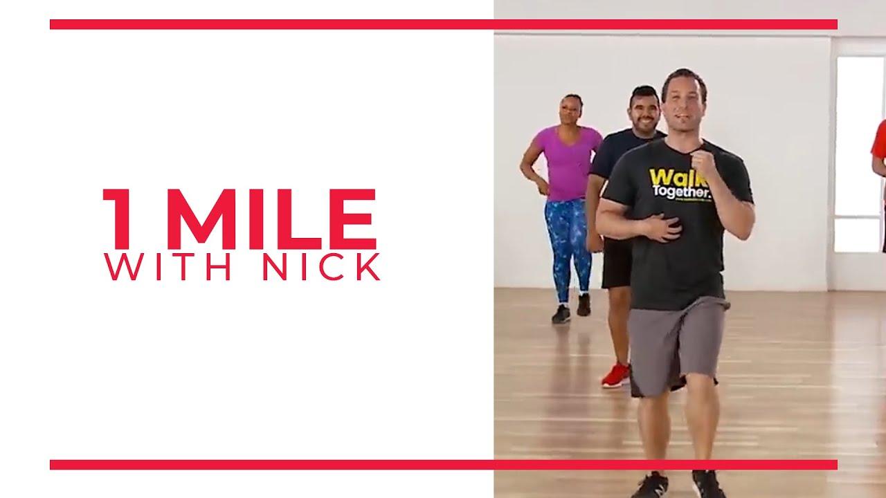 Walk At Home: Walk 15 | Nick 1 Mile! (Walking Exercise)