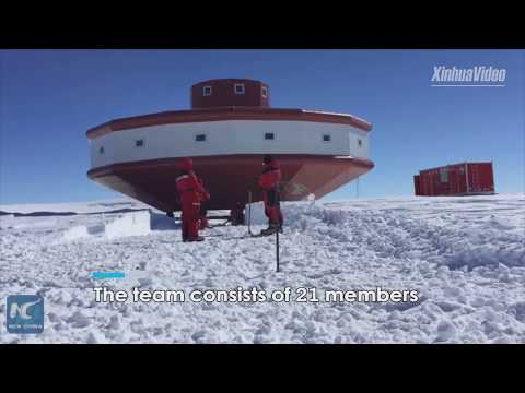 China begins Phase II construction at Antarctic research station