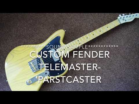 Fender Jazzcaster Telemaster P90 Cocked Wah Sound Sample Offset Telecaster